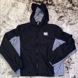 Abercrombie Boys Windbreaker Jacket M 12 Black